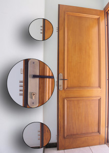 porta anti-arrombamento